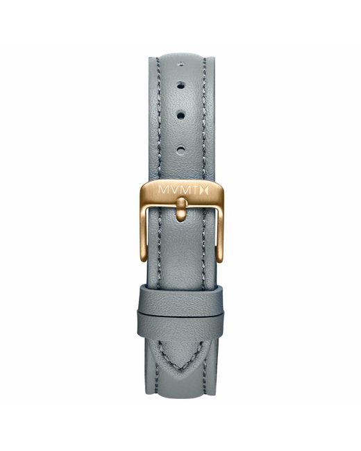 MVMT - Metallic Nova - 16mm Cool Grey Leather - Lyst