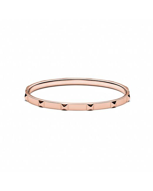 MVMT - Metallic Stud Bangle Thin - Lyst