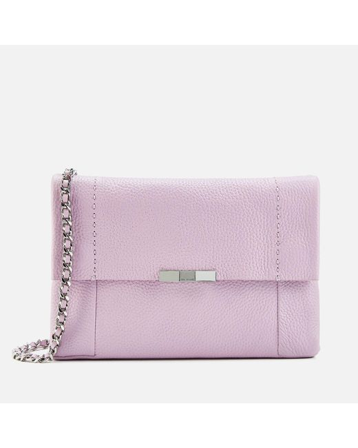 c06fde3d6 Ted Baker - Pink Clarria Bow Detail Cross Body Bag - Lyst ...