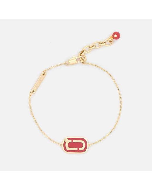 Marc Jacobs - Multicolor Double J Enamel Bracelet - Lyst