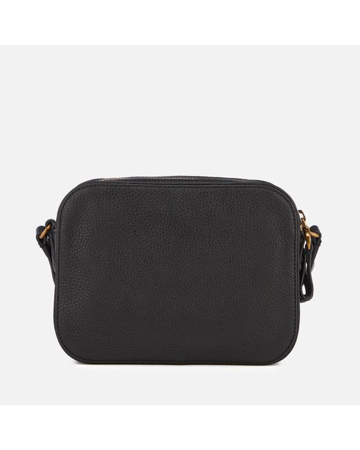 ... Lauren by Ralph Lauren - Black Huntley Medium Camera Bag - Lyst ... b299de8589f84