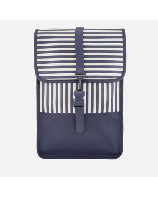 Rains - Blue Mini Backpack - Lyst