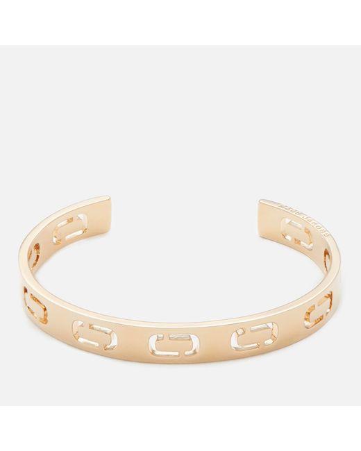 Marc Jacobs - Metallic Women's Icon Cuff Bracelet - Lyst