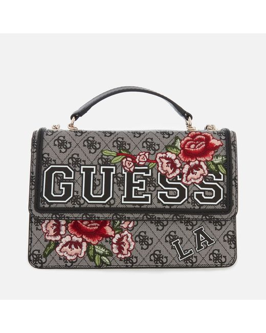 Guess - Multicolor Vikky Convertible Cross Body Flap Bag - Lyst