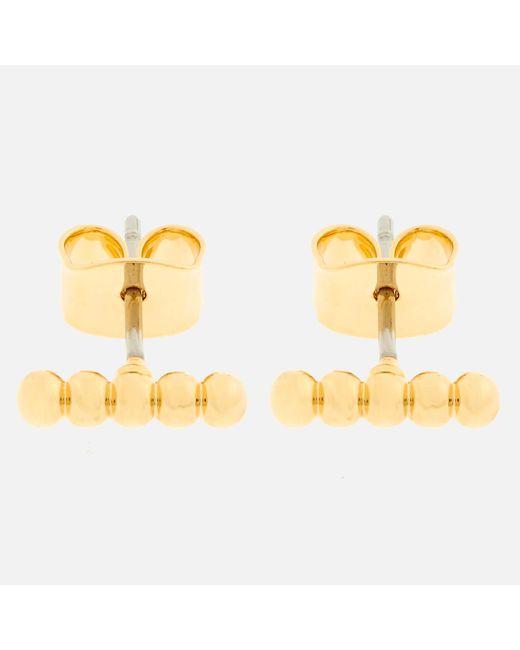 Whistles - Metallic Seed Bead Bar Stud Earrings - Lyst