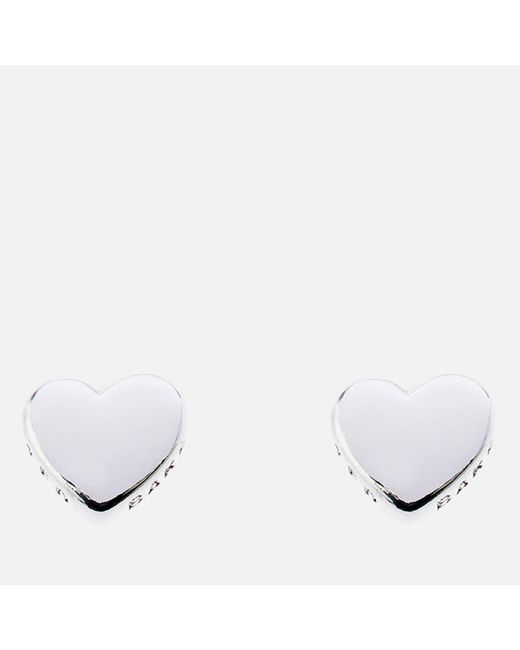 Ted Baker - Multicolor Harly: Tiny Heart Stud Earrings - Lyst