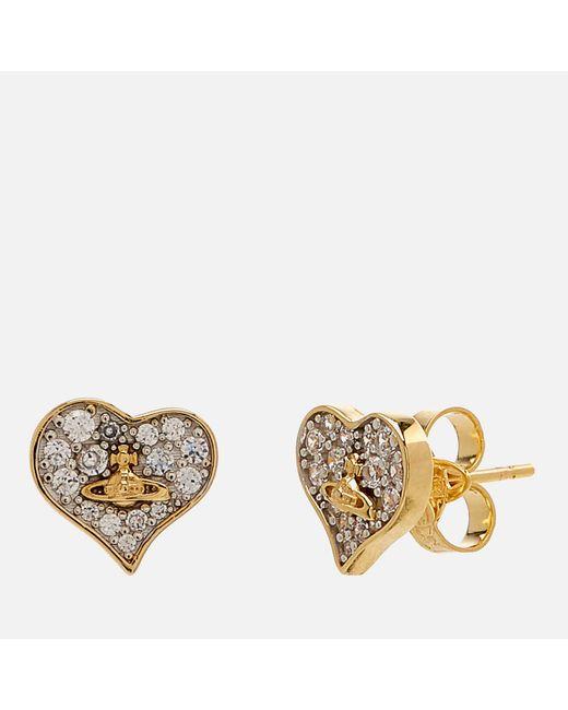 Vivienne Westwood - Metallic Freya Earrings - Lyst
