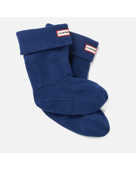 Hunter - Blue Short Boots Socks for Men - Lyst