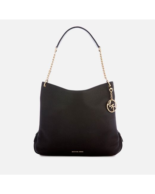 552a00c02270 MICHAEL Michael Kors - Black Lillie Shoulder Tote Bag - Lyst ...