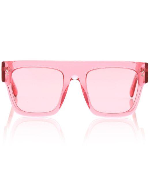 Stella McCartney - Pink Icy Ice Acetate Sunglasses - Lyst