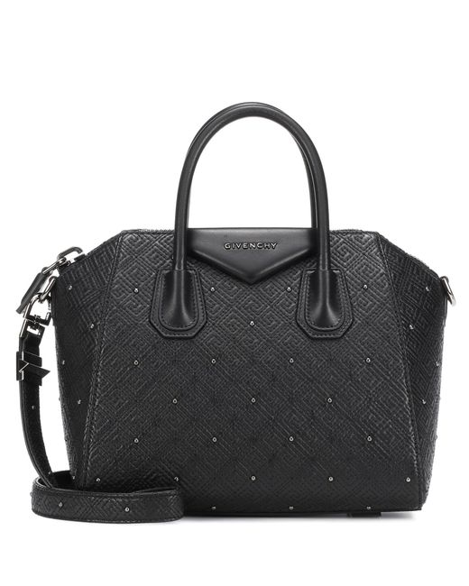 Givenchy - Black Antigona Small Leather Tote - Lyst