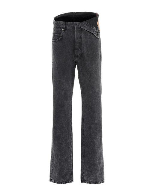 Y. Project - Black Jeans mit weitem Bein - Lyst