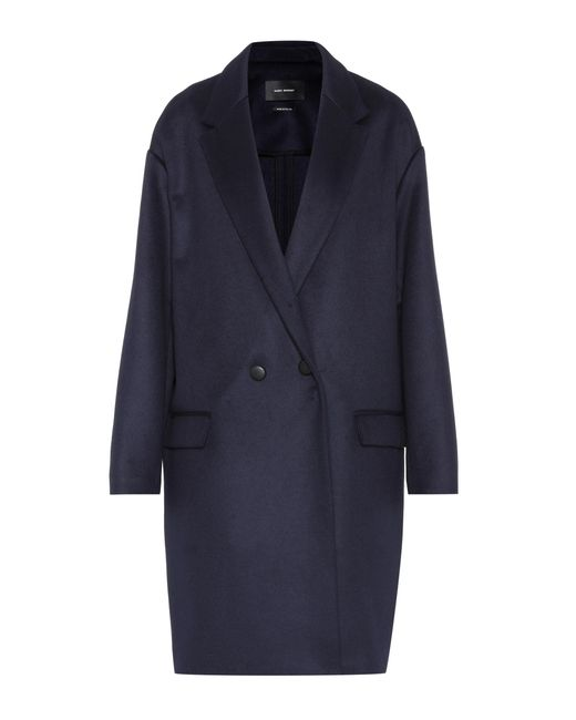 Isabel Marant | Blue Filipo Wool And Cashmere Coat | Lyst