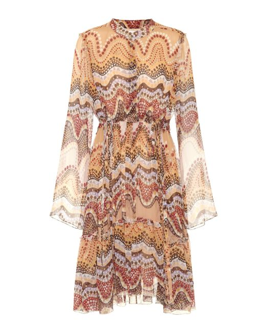 Chloé - Multicolor Exclusive To Mytheresa.com – Printed Silk-crepon Dress - Lyst