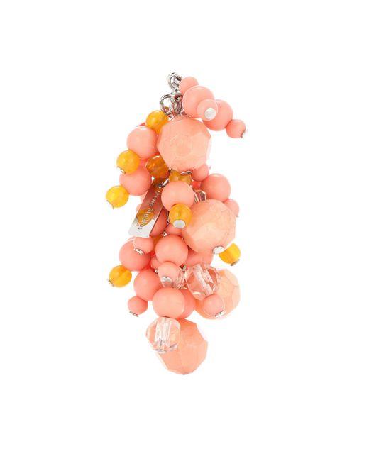Acne - Pink Devra Beaded Single Earring - Lyst