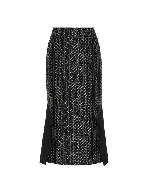 Roland Mouret - Black Margate Skirt - Lyst