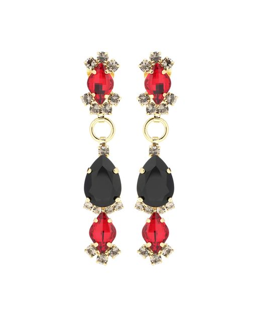 Marni - Metallic Clip-on Earrings - Lyst