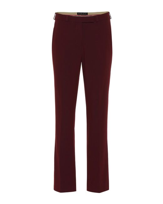 Etro - Red Crêpe Pants - Lyst