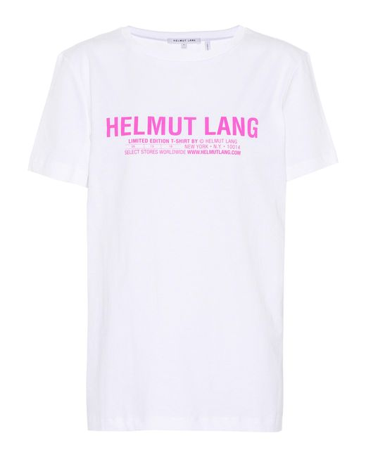Helmut Lang - White Limited Edition Cotton T-shirt - Lyst