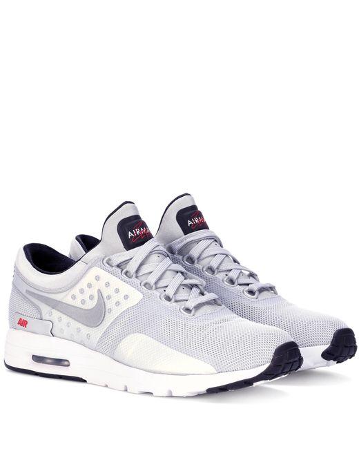 Nike | Gray Air Max Zero Qs Sneakers | Lyst