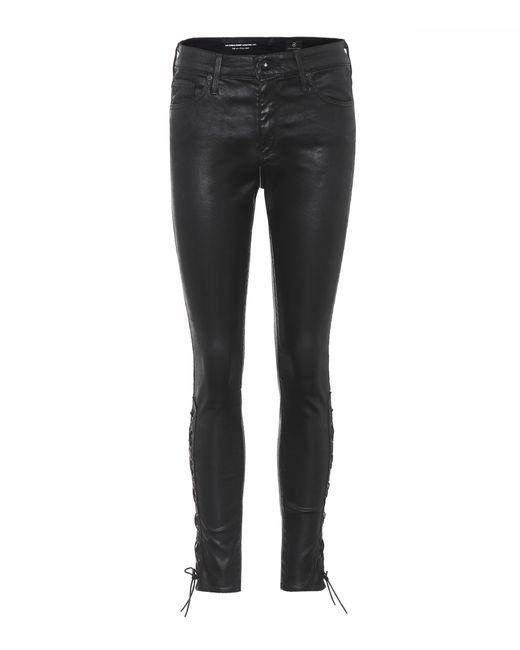 AG Jeans - Black The Farrah High-waisted Trousers - Lyst