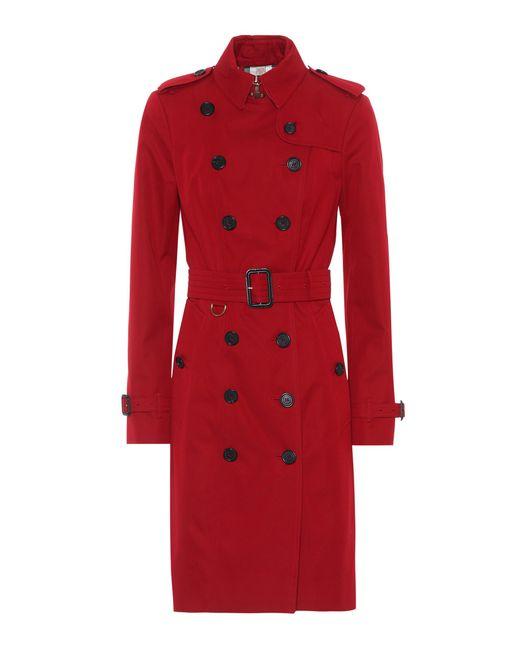 Burberry | Red Sandringham Trench Coat | Lyst