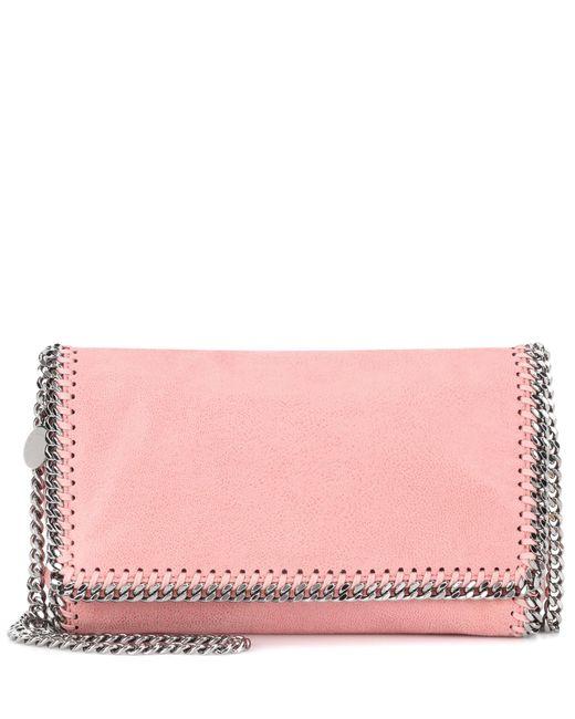 Stella McCartney - Pink Falabella Shaggy Deer Shoulder Bag - Lyst