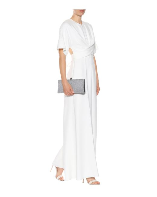 4ca685dd3ba ... Roksanda - White Tullus Bridal Silk-blend Jumpsuit - Lyst ...