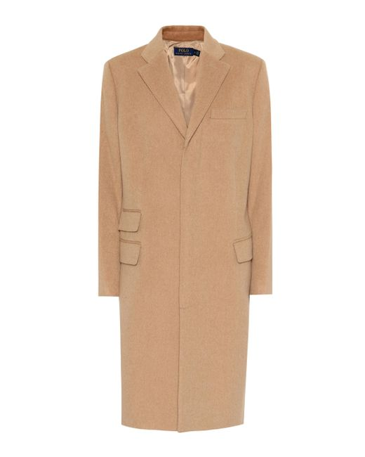 Polo Ralph Lauren - Natural Wool And Cashmere Coat - Lyst