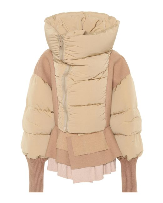 Undercover | Natural Down-filled Puffer Jacket | Lyst