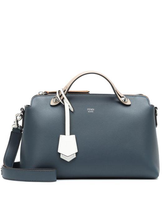 Fendi - Gray By The Way Medium Leather Bag - Lyst