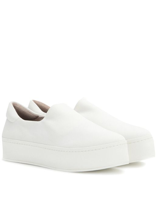 Opening Ceremony - White Platform Slip-on Sneakers - Lyst