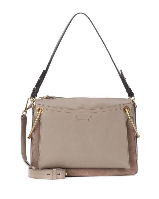Chloé - Gray Medium Roy Shoulder Bag - Lyst
