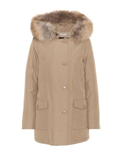 Woolrich | Multicolor Arctic Fur-trimmed Parka | Lyst
