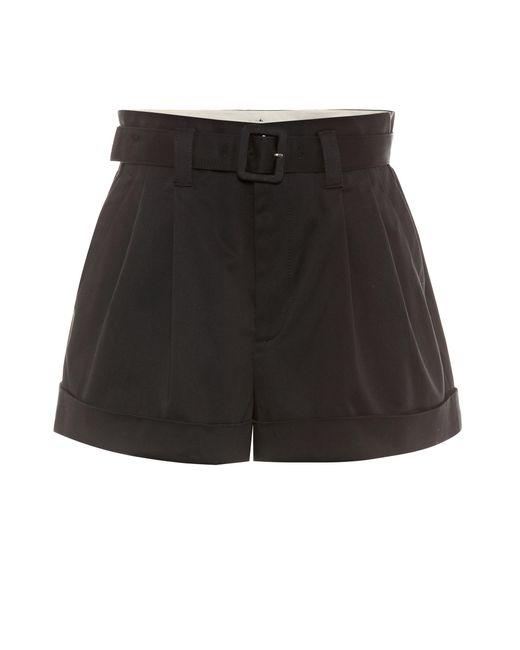 Marc Jacobs - Black Cotton Shorts - Lyst