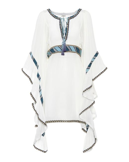 Talitha | White Embroidered Dress | Lyst