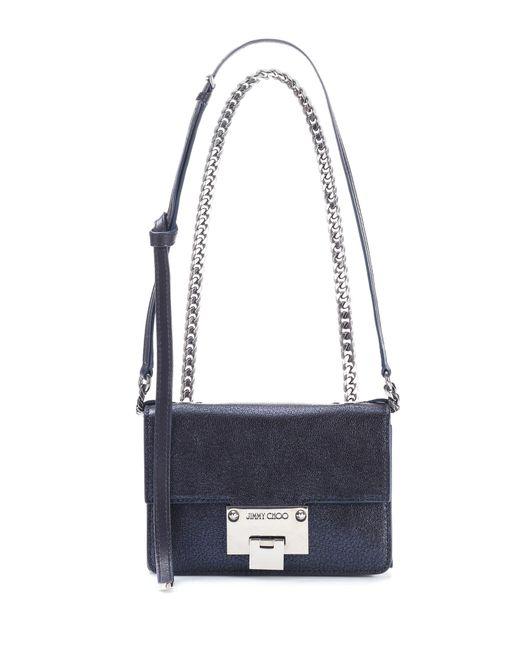 Jimmy Choo - Blue Rebel Soft Mini Leather Shoulder Bag - Lyst
