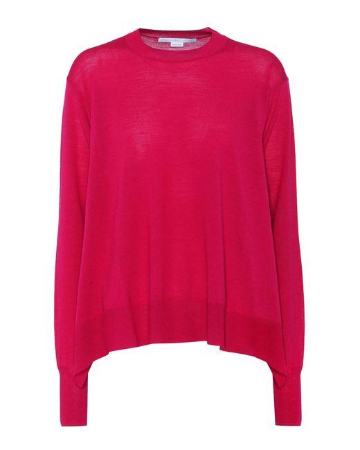 Stella McCartney | Pink Virgin Wool Sweater | Lyst