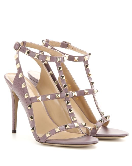 Valentino   Purple Heels Shoes Woman   Lyst