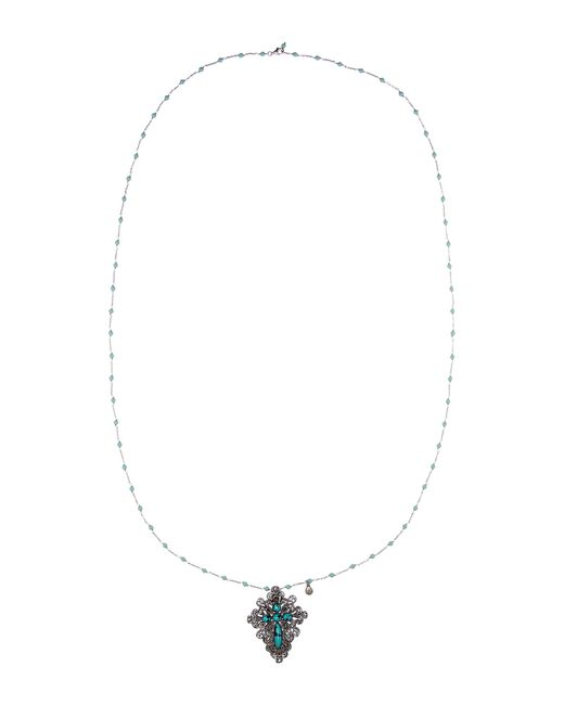 Gucci | Metallic Sterling Silver Necklace | Lyst
