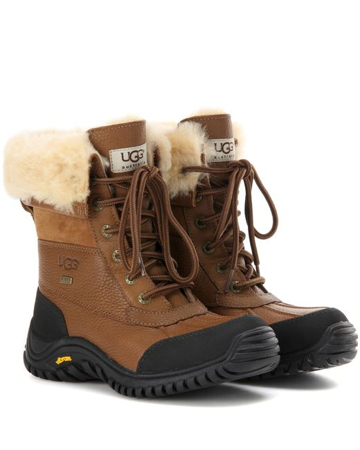 UGG | Brown Ugg Adirondack Ii Waterproof Boot | Lyst