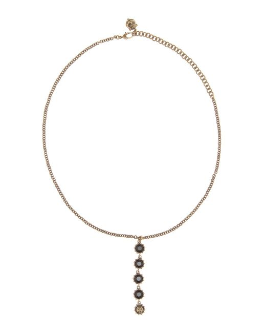 Gucci | Metallic Crystal-embellished Necklace | Lyst
