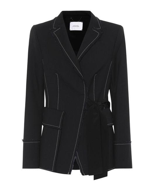 Dorothee Schumacher   Black Tailored Structure Twill Jacket   Lyst