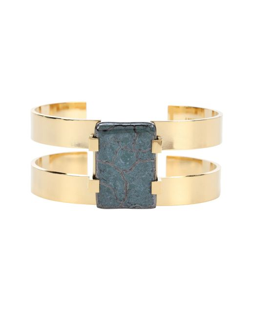 Isabel Marant   Metallic Ceramic Bracelet   Lyst