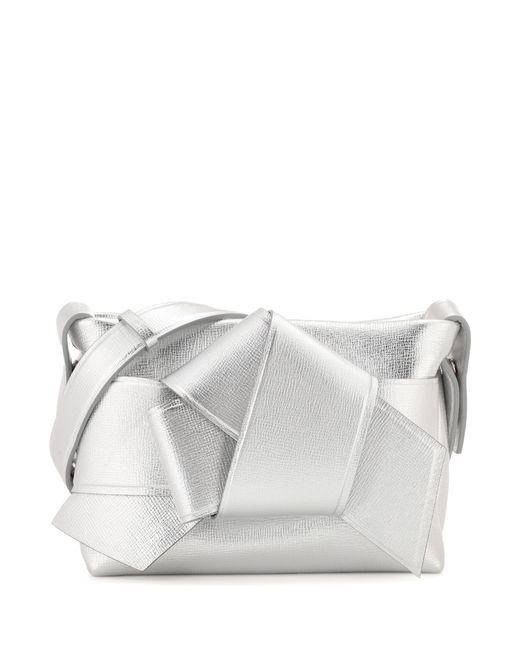 Acne - Metallic Exclusive To Mytheresa. Com – Musubi Leather Handbag - Lyst