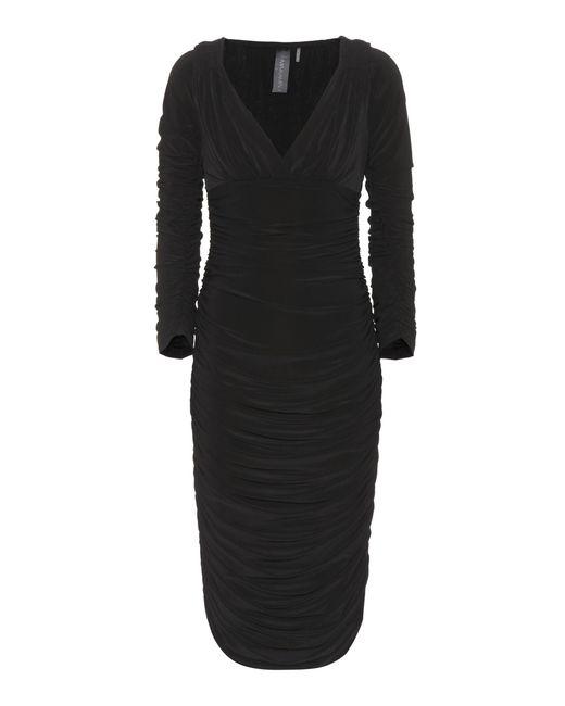 Norma Kamali - Black Tara Dress - Lyst