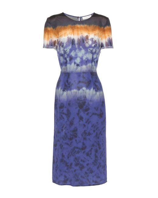 Altuzarra - Purple Glaze Printed Silk Dress - Lyst