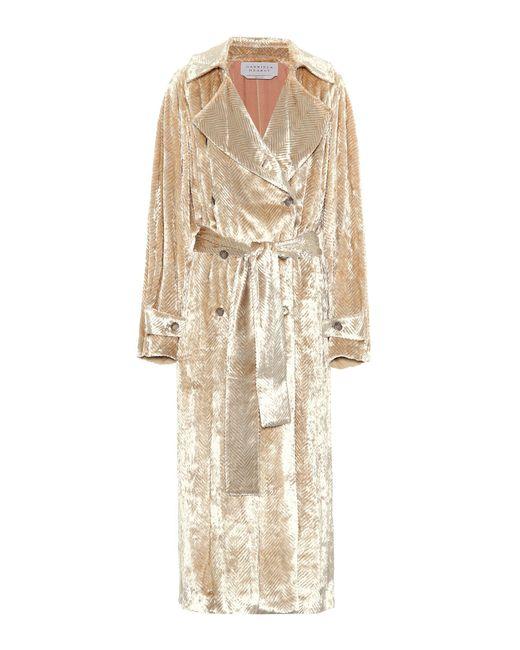Gabriela Hearst | Natural Cabot Velvet Coat | Lyst