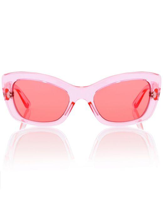 Prada - Pink Postcard Cat-eye Sunglasses - Lyst