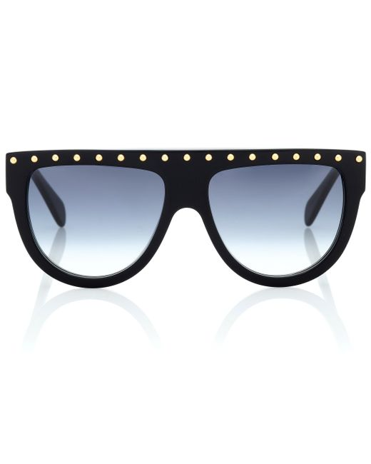 Céline - Black Embellished Sunglasses - Lyst